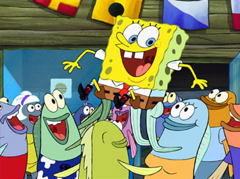 funny spongebob. SPONGEBOB emerged victorious.