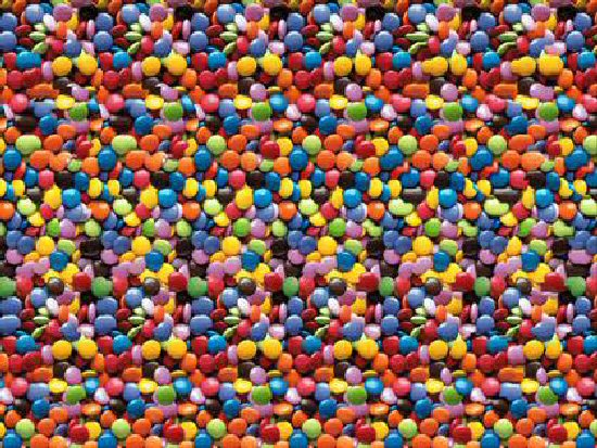 3D Magic Eye Optical Illusions